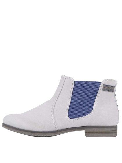 Sivé dámske členkové topánky s.Oliver