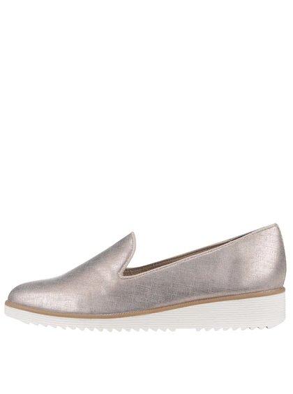 Loafers v zlatej farbe Tamaris