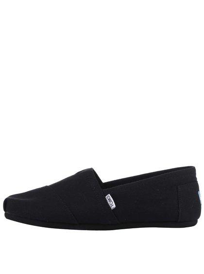 Černé pánské loafers TOMS