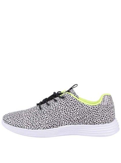 Pantofi sport Tamaris albi cu buline