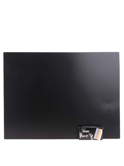 Súprava dvoch tabuľových podložiek s kriedami Helio Ferretti