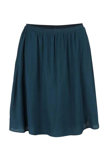 Petrolejová sukně Vero Moda Nellie