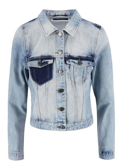 Jachetă VERO MODA Patty albastră din denim