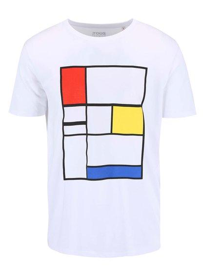 Biele pánske tričko ZOOT Originál Kompozícia