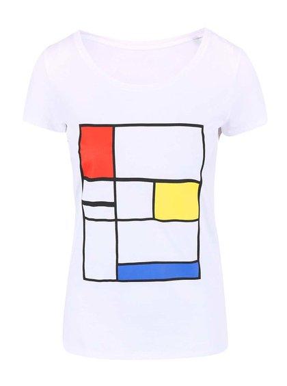 Tricou de damă ZOOT Original Composition alb