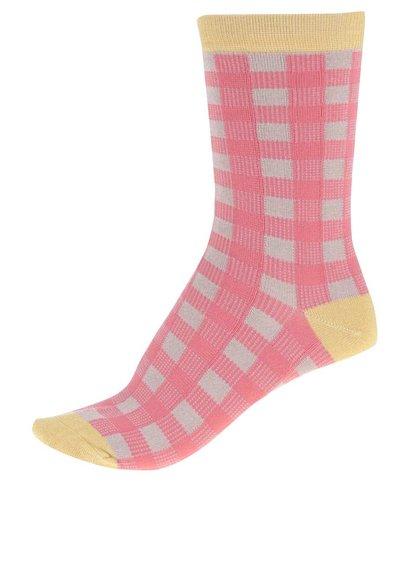 Růžové dámské bambusové ponožky Braintree Peggy