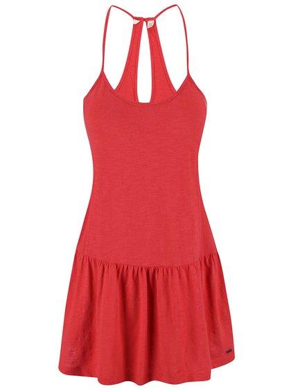 Červené šaty Roxy Pacific