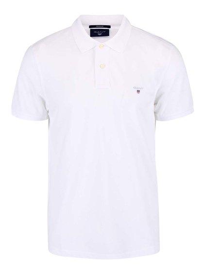 Bílé pánské polo triko GANT