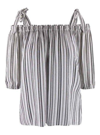 Bluză Dorothy Perkins alb-negru