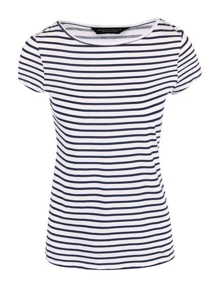 Modro-bílé pruhované tričko Dorothy Perkins