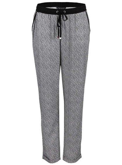 Bielo-čierne vzorované nohavice Dorothy Perkins