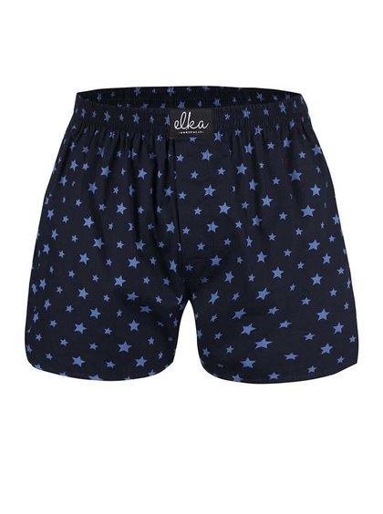 Tmavomodré trenírky s hviezdami El.Ka Underwear