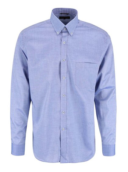 Tmavomodrá košeľa Seven Seas Oxford