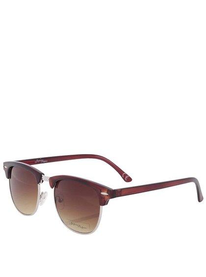 Hnedé dámske slnečné okuliare Jeepers Peepers