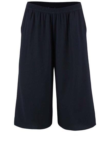 Pantaloni cullotes Only Evita navy 3/4
