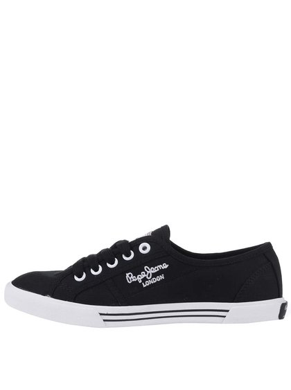 Černé dámské tenisky Pepe Jeans