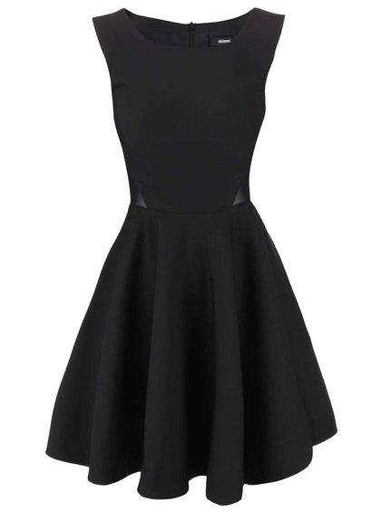 Čierne šaty Alchymi Anchroite