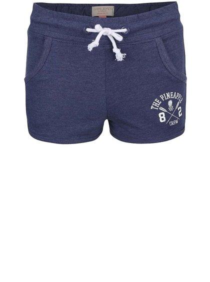 Tmavě modré holčičí šortky Cars Jeans Shorty