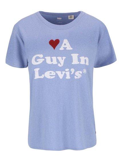 Modré dámské tričko s potiskem Levi's®