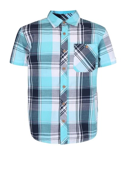 Modrá chlapčenská košeľa name it Hans