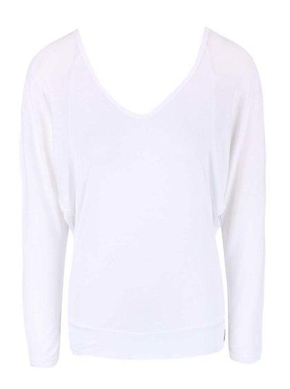 Bílé tričko s odhalenými zády DEHA