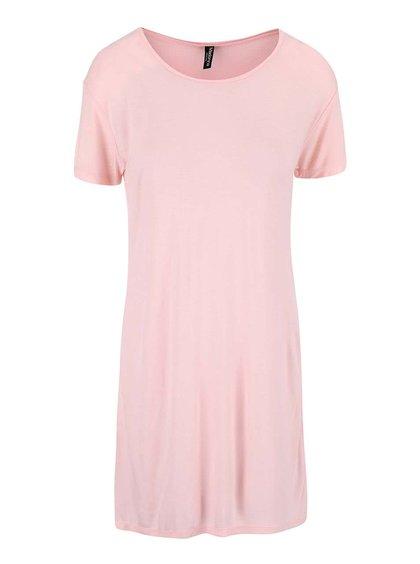 Tricou cu crăpătură Madonna roz