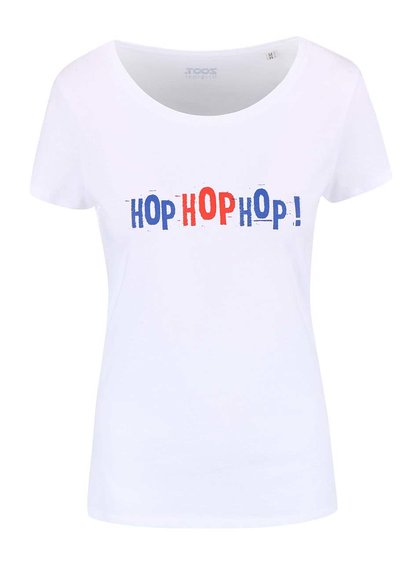 Bílé dámské tričko ZOOT Originál Hop Hop Hop