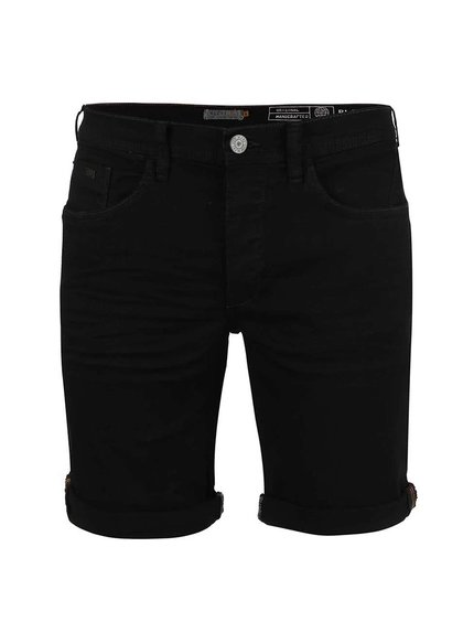 Pantaloni scurți Blend denim negru