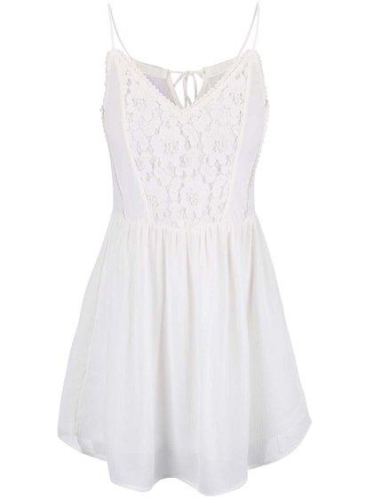 Krémové šaty na ramienka Vero Moda Sucre