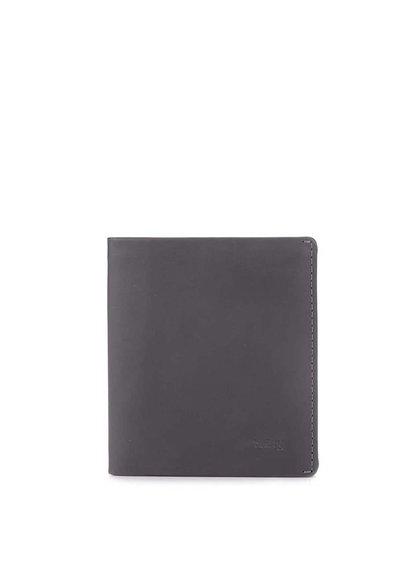 Tmavě šedá kožená peněženka Bellroy Note Sleeve