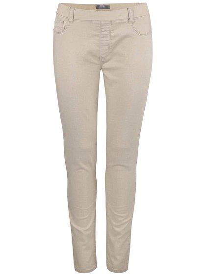 Béžové skinny nohavice Dorothy Perkins