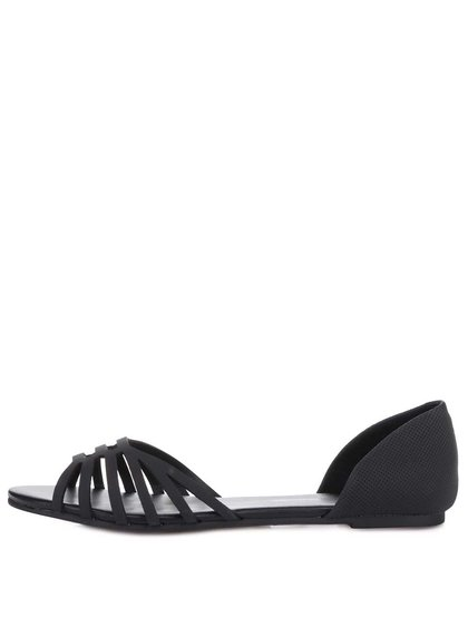 Čierne sandálky s uzavretou pätou Dorothy Perkins