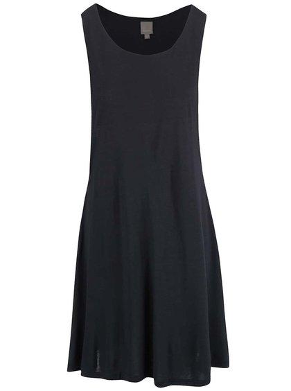 Čierne šaty s prestrihmi Bench Cautious