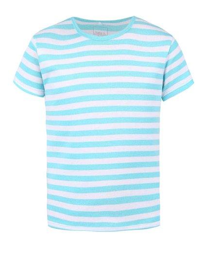Světle modré klučičí pruhované tričko name it Villy