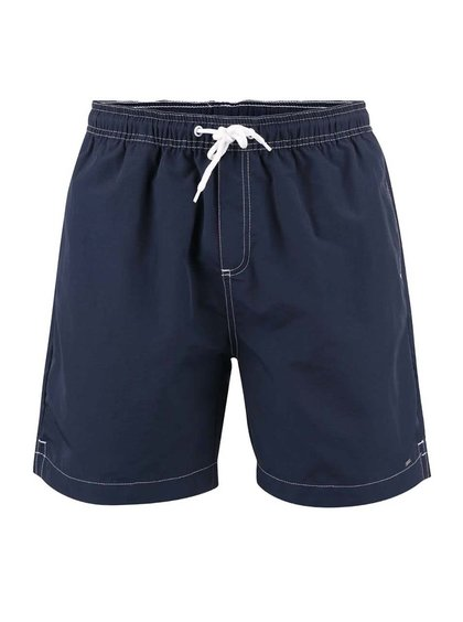 Modré plavky s detailmi v bielej farbe !Solid Ingano
