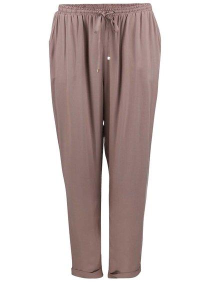 Světle hnědé volnější kalhoty Dorothy Perkins