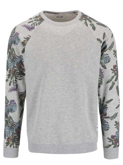 Bluză ONLY & SONS Aron gri cu model