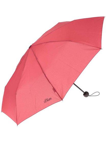 Umbrelă s.Oliver roșie de damă