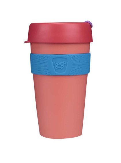 Dizajnový cestovný hrnček KeepCup Tea Rose Large