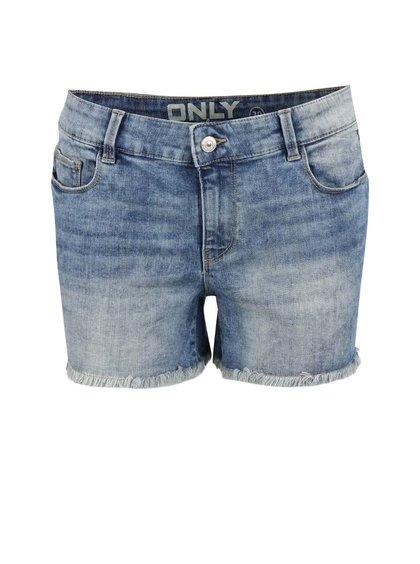 Modré džínové kraťasy ONLY Ultimate