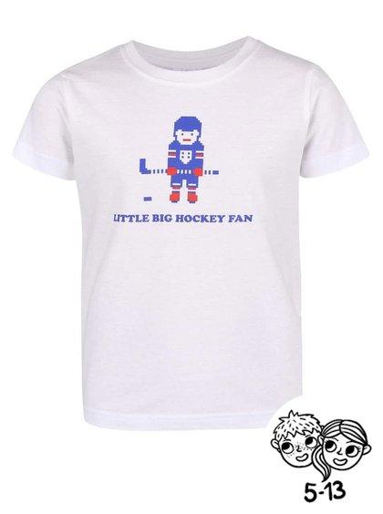 Bílé dětské tričko ZOOT Kids Hokejový fanoušek