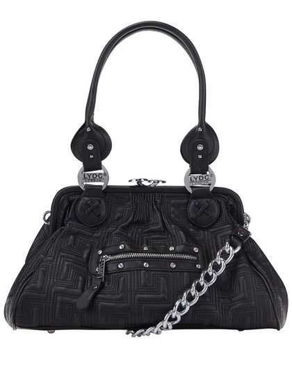 Čierna menšia kabelka LYDC