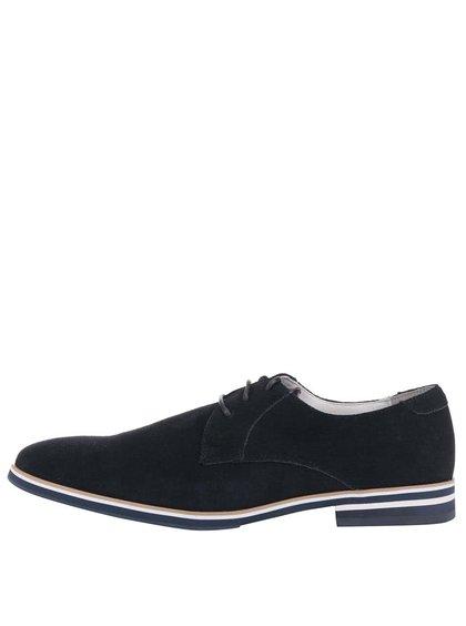Pantofi din piele Dice Garfield albaștri