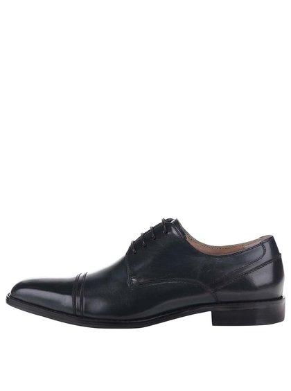 Pantofi din piele Dice Slater albastru închis