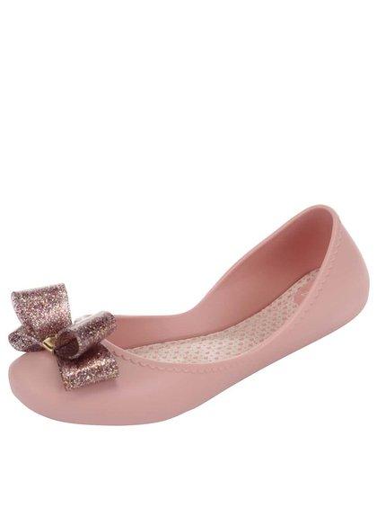 Světle růžové plastové balerínky Zaxy Start Ill