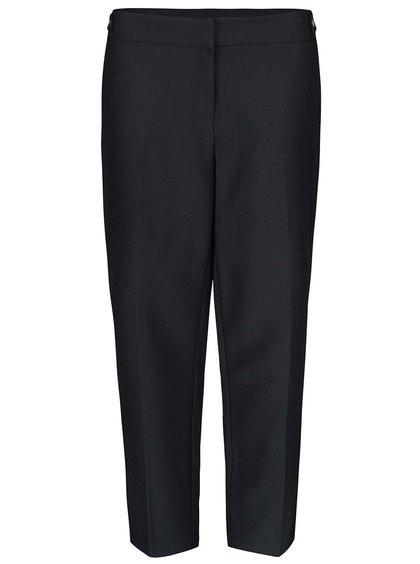 Černé formální vzorované kalhoty Dorothy Perkins