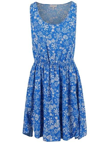 Modré květované šaty Apricot