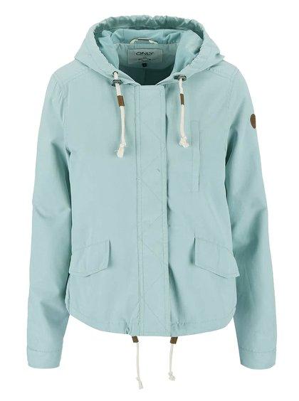 Jachetă ONLY Skylar albastru deschis