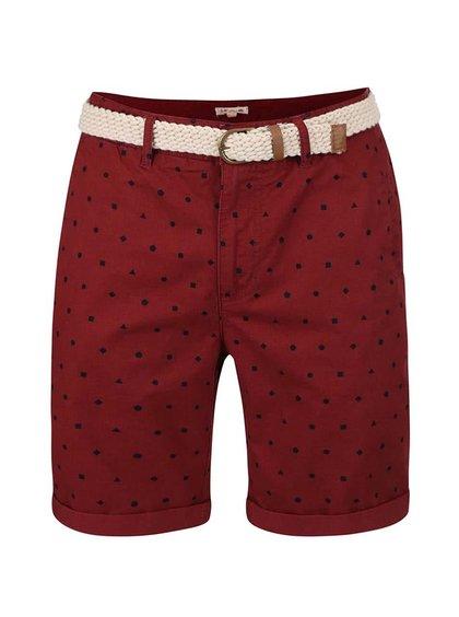 Pantaloni scurți mov Bellfield Whepstead cu buline