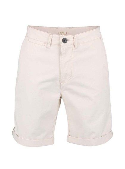 Pantaloni scurți crem Bellfield Polstead